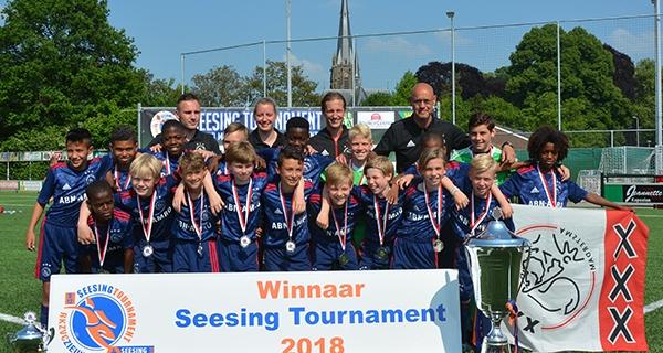 Ajax wint voor zesde keer Seesing Tournament